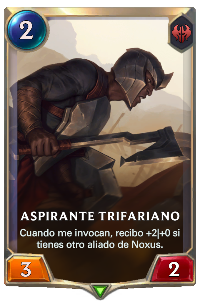 Aspirante Trifariano (Legends of Runeterra)