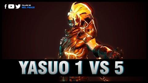 Epic Yasuo 1 v 5 Pentakills Compilations - Best Yasuo Plays