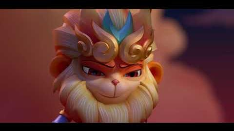 Radiant Wukong Ascends the Mountain
