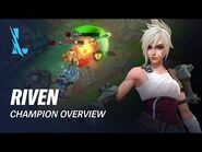 Riven Champion Overview - Gameplay - League of Legends- Wild Rift