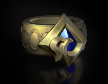 A ring with the sigil of Camavor
