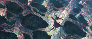 The Rainbowed Canyons Of Shi.