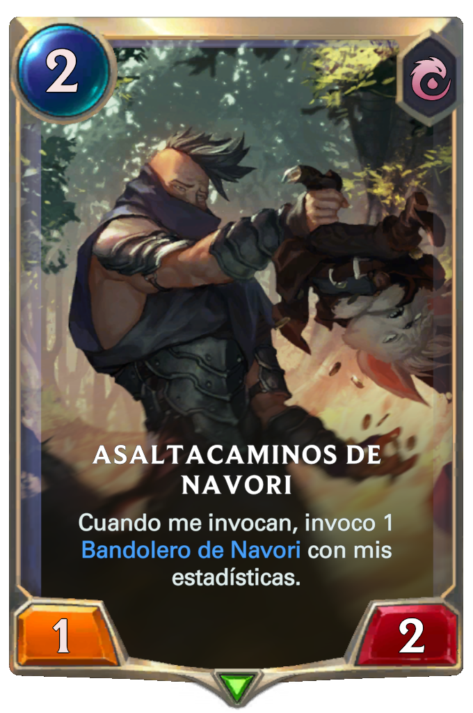 Asaltacaminos de Navori (Legends of Runeterra)