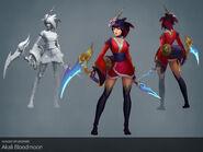 Akali Update BloodMoon model 01