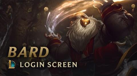 Bard, the Wandering Caretaker - Login Screen