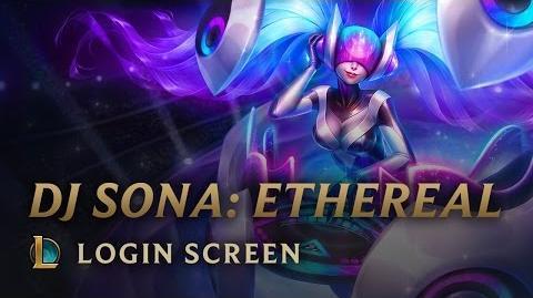 DJ Sona (Eteryczna) - ekran logowania