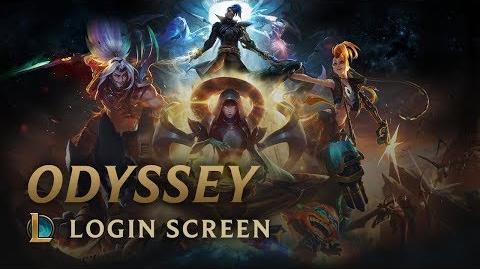 Odyssey - Login Screen