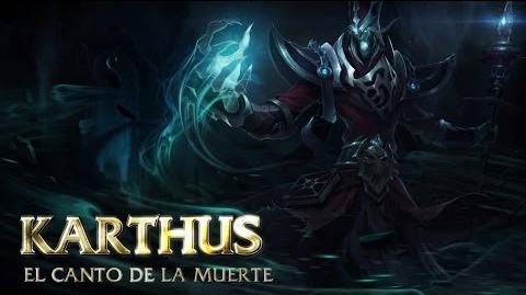 Presentación de Campeones Karthus, el canto de la muerte