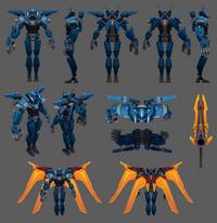 Aatrox Update Mecha Model 01