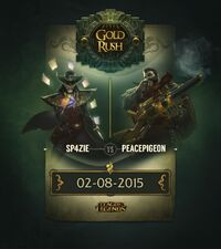 Graves & Twisted Fate Goldrausch promo