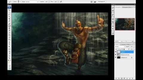Jak powstał portret Lee Sina — prezentacja
