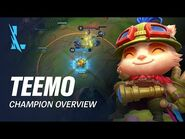 Teemo Champion Overview - Gameplay - League of Legends- Wild Rift