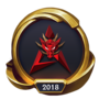 Worlds 2018 Hong Kong Attitude (Gold) Emote