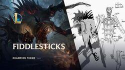 Fiddlesticks, Prastary Strach - motyw bohatera
