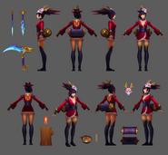 Akali Update BloodMoon Model 04
