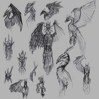 Anivia Konzept Sketch