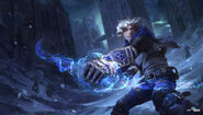 Ezreal Update Frosted Splash concept