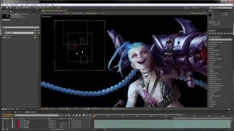 Jinx Login Screen - Rigging