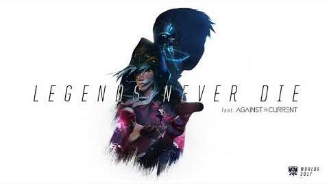 Legends Never Die (ft. Against The Current) OFFICIAL AUDIO Worlds 2017 - League of Legends