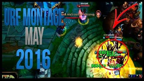 URF Montage - Epic and Funny Moments - Best of May 2016