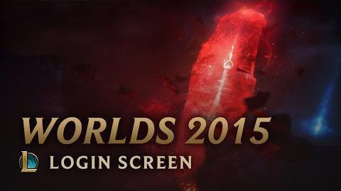 Mistrzostwa Świata Sezonu 2015 - ekran logowania