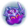 Galaxies Stage 1 Diamond Squink Emote