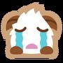 Poro sticker cry