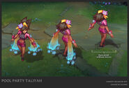 Taliyah PoolParty Concept 01