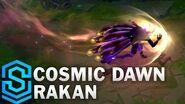 Kosmisches Sonnenfeuer Rakan - Skin-Spotlight