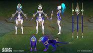 Nidalee CosmicHuntress Concept 04