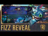 Fizz Reveal - New Champion - Legends of Runeterra