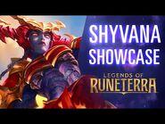 Shyvana Showcase - New Champion - Legends of Runeterra