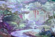 Spirit Bonds Background Kanmei Forest
