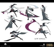 Yone Brüder der Blutbefleckten Klinge Konzept 02