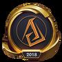 Emotka Mistrzostwa 2018 – Złote ASC