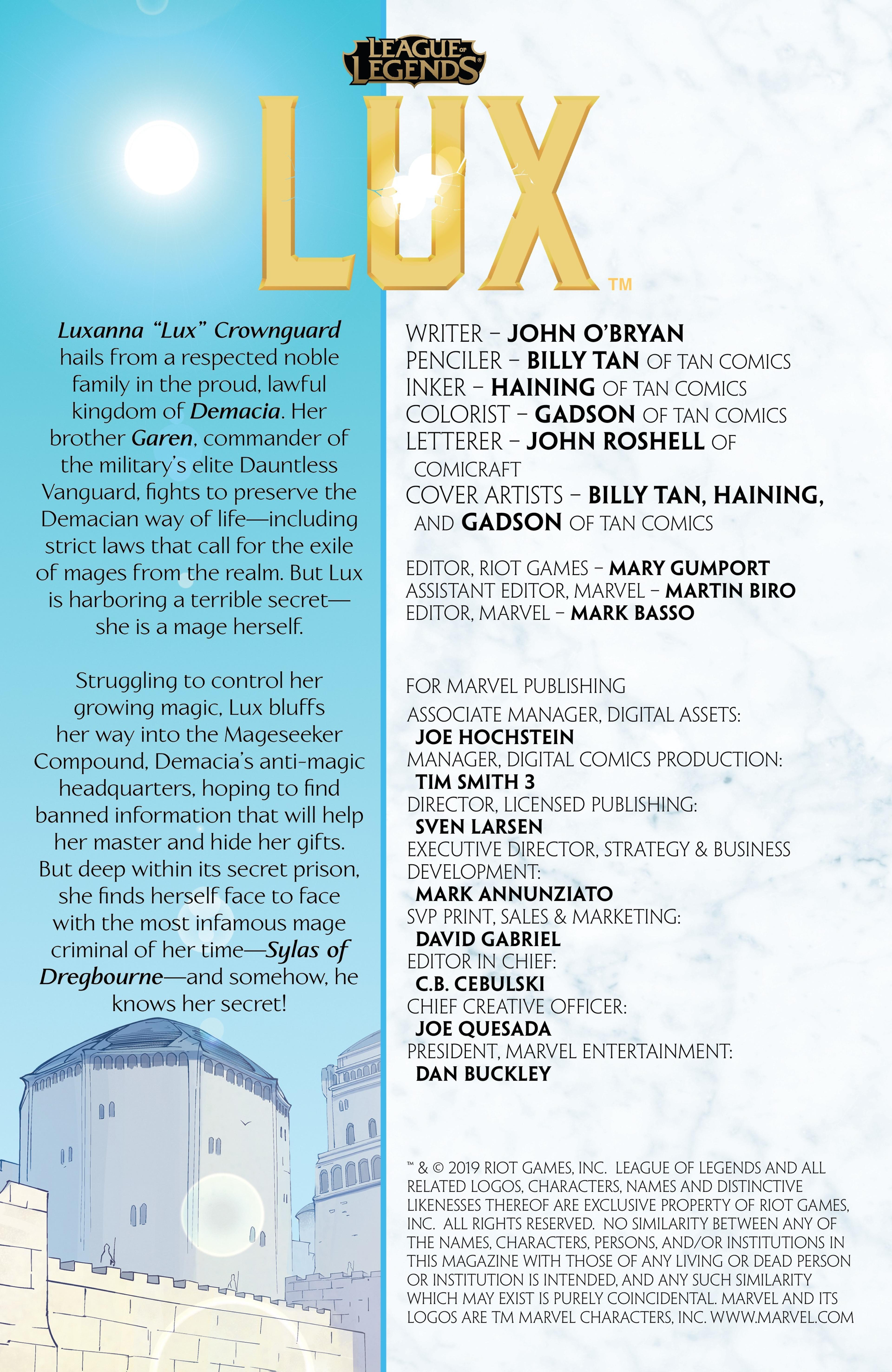 Lux: Issue 2