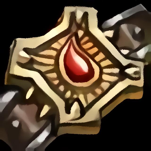 Emblem des Heldenmuts