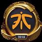 Worlds 2018 Fnatic (Gold) Emote