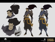 Yasuo Kin of the Stained Blade Concept 18