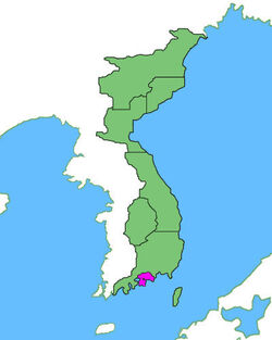 Location of National Capital Province Metropolitan Kilgeo