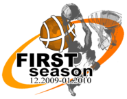 Leaguebasket first season logo