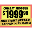 Sign of Gunshop Combat Shotgun
