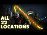 ALL GOLDEN CROWBAR LOCATIONS (Left 4 Dead 2 Golden Freeman Achievement)
