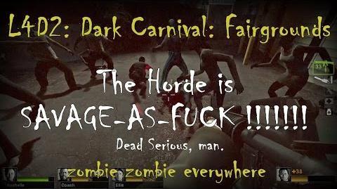 Left 4 Dead 2 Dark Carnival - The Fairgrounds Gameplay Walkthrough Playthrough