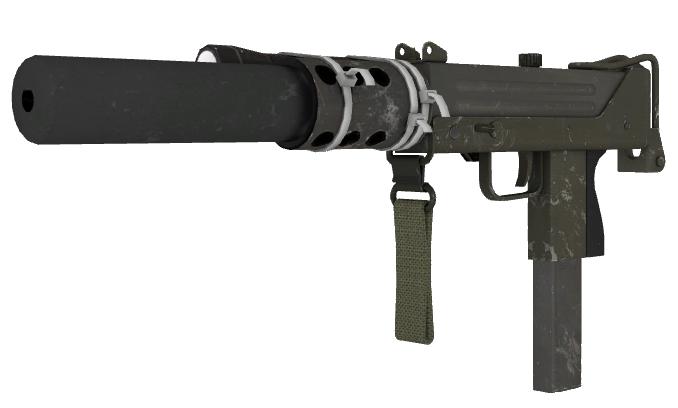 Silenced Submachine Gun