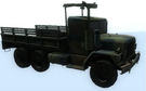 Military Flatbed Truck