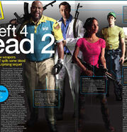 Выжившие L4D2 на обложке
