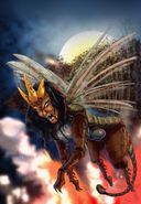 Locusts tribulation