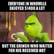 The Grinch On Stimulus Money