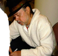 Chuck Mangione signing autographs